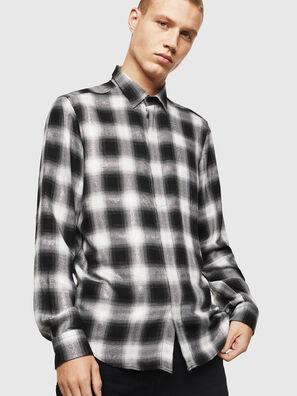 S-MARLENE-C, Black/White - Shirts