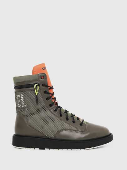 Diesel - H-CAGE DBZ, Olive Green - Boots - Image 1