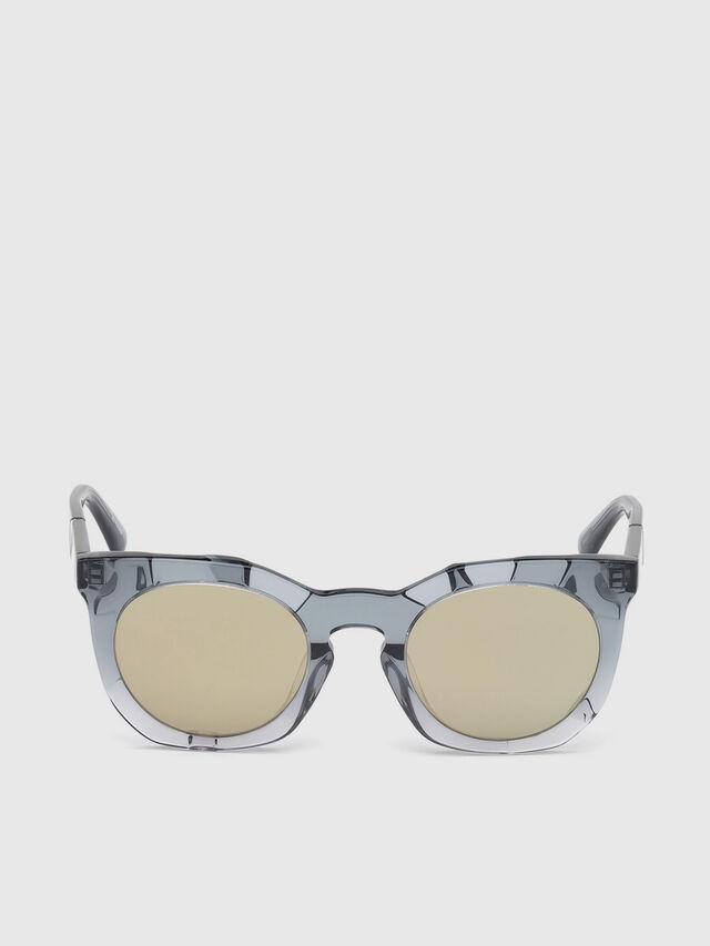 Diesel - DL0270, Grey - Sunglasses - Image 1