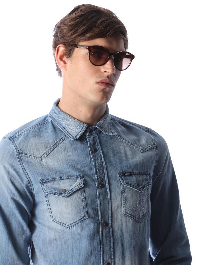 Diesel - DM0186, Brown - Sunglasses - Image 5
