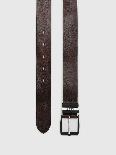 Diesel - B-HIDDEN, Dark Brown - Belts - Image 3