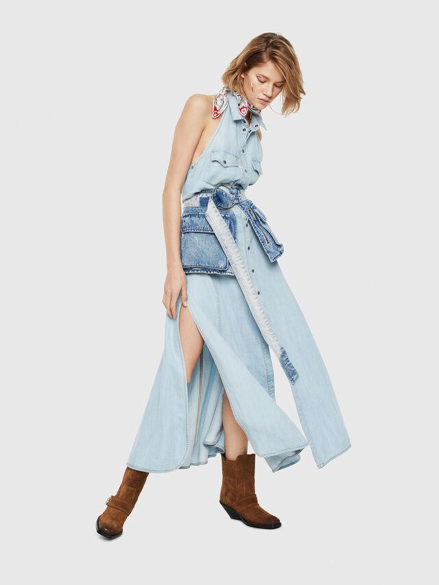 Diesel - DE-POKY, Blue Jeans - Dresses - Image 3
