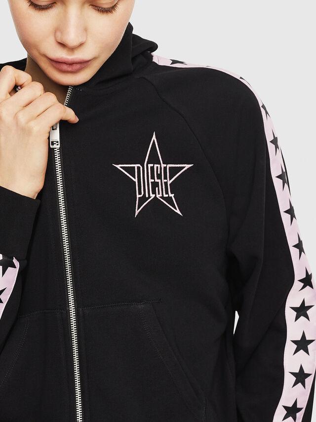 Diesel - UFLT-NERISSA-U, Black/Pink - Sweaters - Image 3