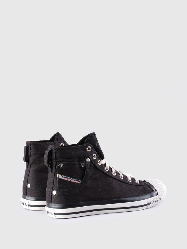 Diesel EXPOSURE W, Black/White - Sneakers - Image 3