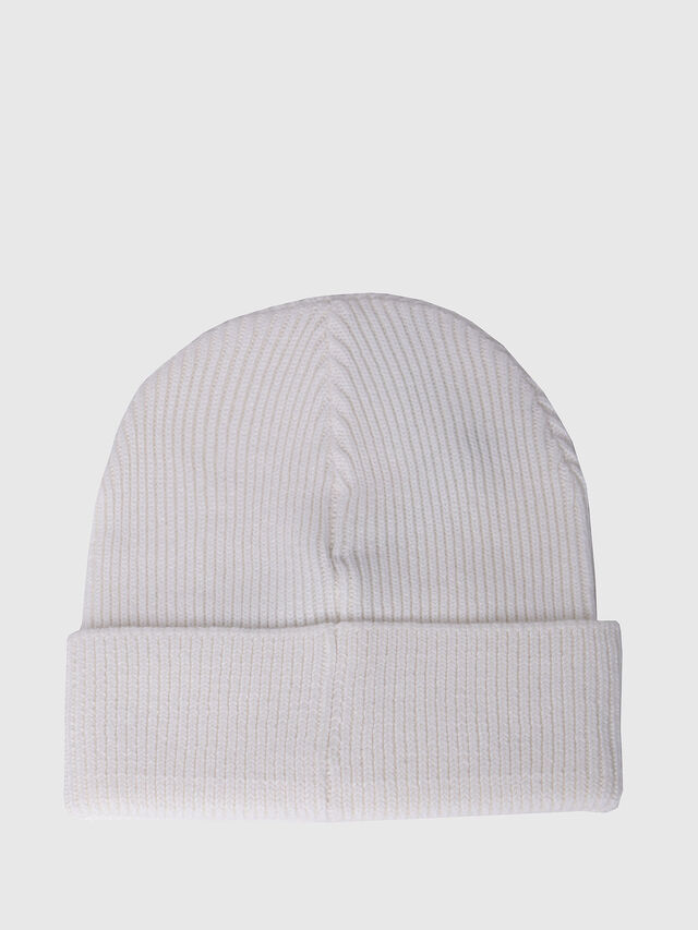 Diesel - K-CODER, White - Caps, Hats and Gloves - Image 2