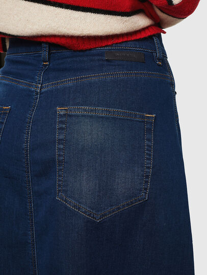 Diesel - D-RHITA JOGGJEANS, Medium blue - Skirts - Image 5