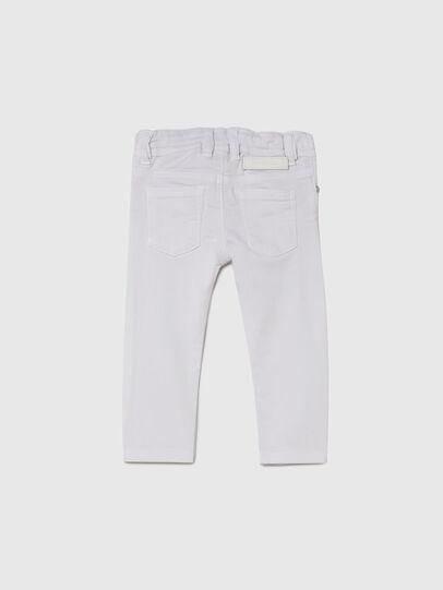 Diesel - SLEENKER-B JOGGJEANS-N, White - Jeans - Image 2