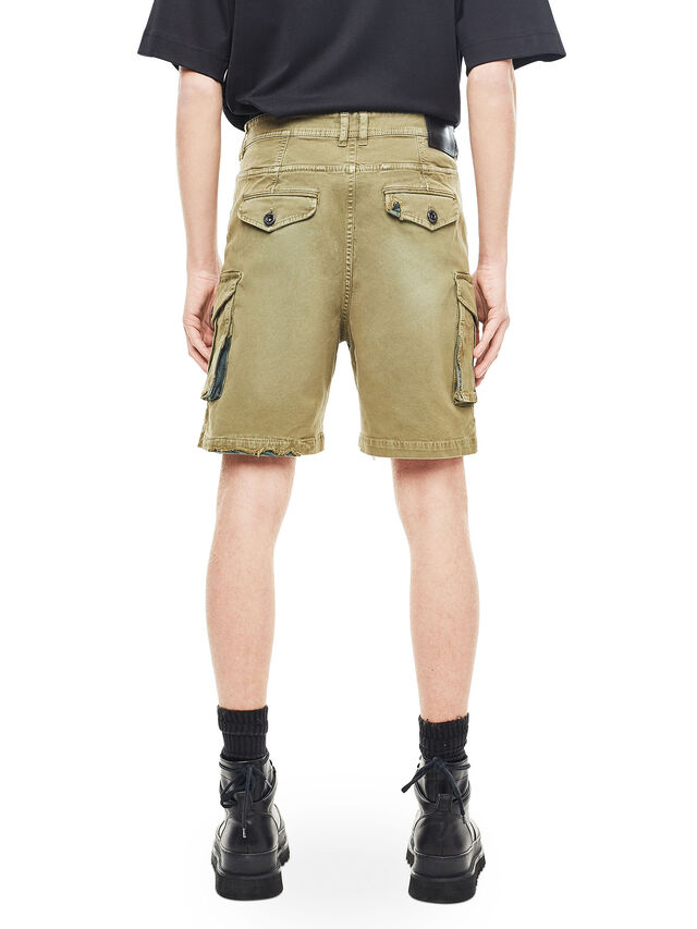 Diesel - TYPE-2908, Military Green - Shorts - Image 2