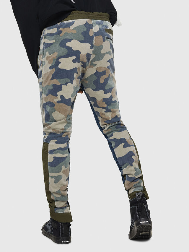 Diesel - D-Eeley JoggJeans 0GAUU, Green Camouflage - Jeans - Image 2