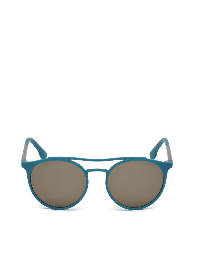 Diesel DM0195, Blue - Eyewear - Image 1