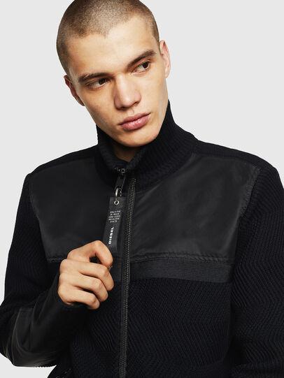 Diesel - K-MANY, Black - Knitwear - Image 3