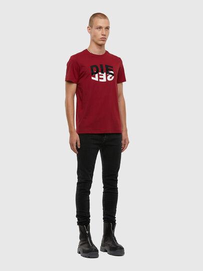 Diesel - T-DIEGOS-N22, Brown - T-Shirts - Image 4