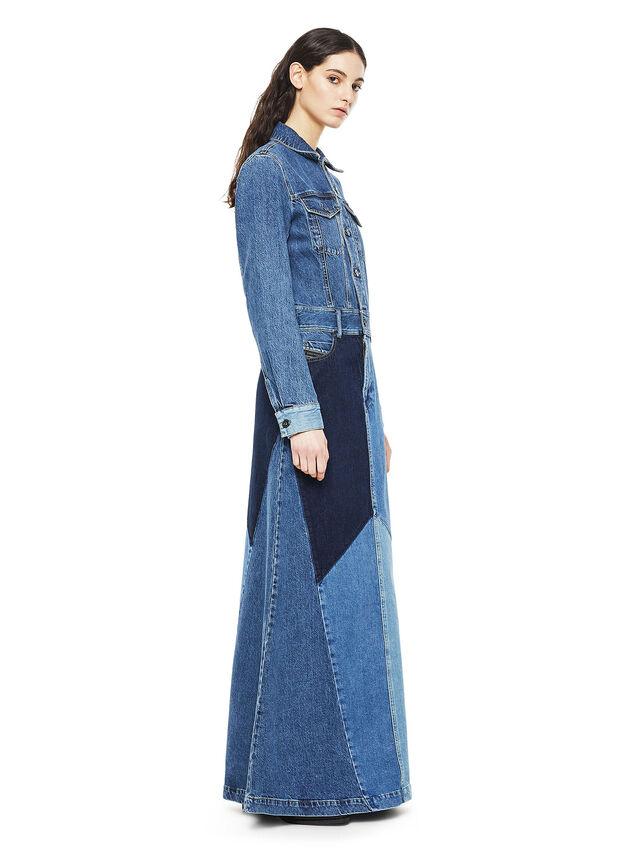 Diesel - DINAP, Blue Jeans - Dresses - Image 3