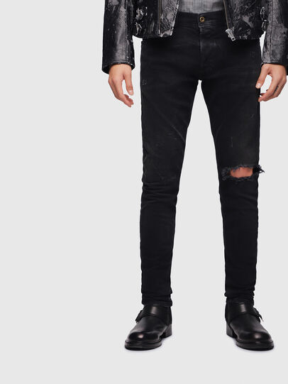 Diesel - Tepphar 069DV, Black/Dark grey - Jeans - Image 1