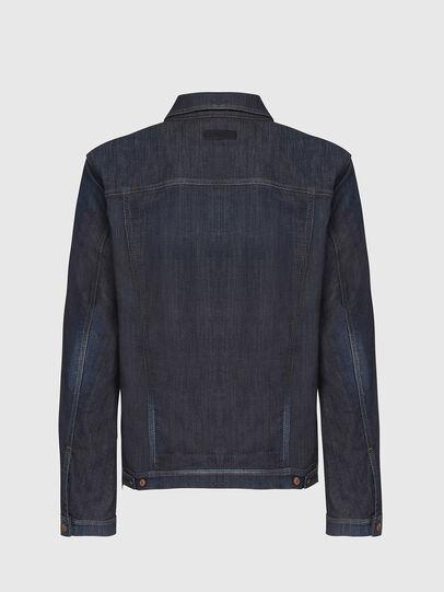 Diesel - NHILL-TW, Dark Blue - Denim Jackets - Image 2
