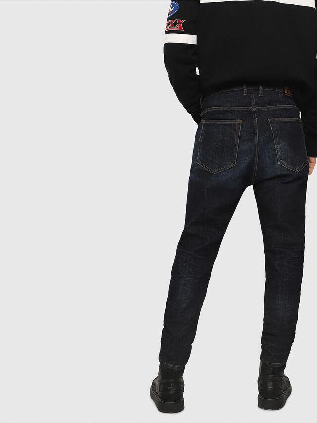Diesel - D-Vider 081AT, Dark Blue - Jeans - Image 2