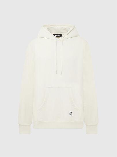 Diesel - S-GIRK-HOOD-MOHI, White - Sweaters - Image 1