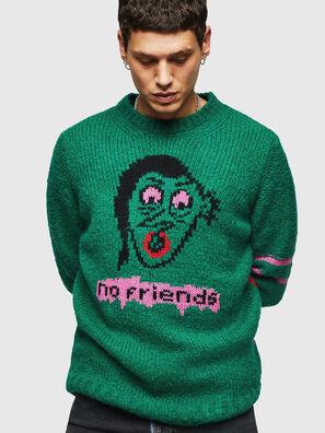 K-BOBBY, Dark Green - Knitwear