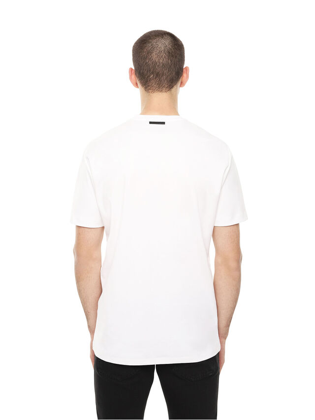 Diesel - TY-DRIPPING, White - T-Shirts - Image 2