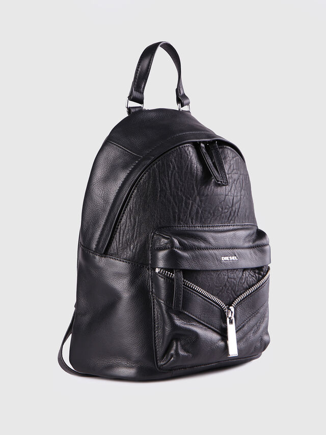 Diesel - LE-ONY, Black - Backpacks - Image 3