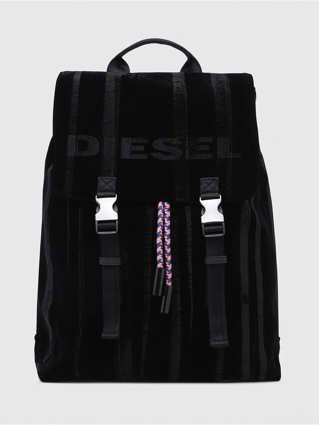 Diesel - F-MUSILE BACKPACK, Black - Backpacks - Image 1