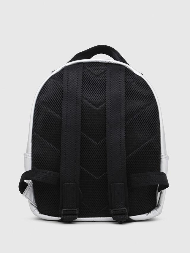 Diesel - F-BOLD BACK FL, Silver - Backpacks - Image 2