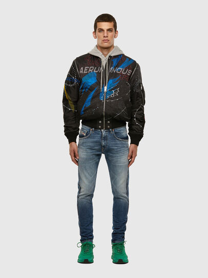 Diesel - J-DWIGHT, Black - Jackets - Image 7
