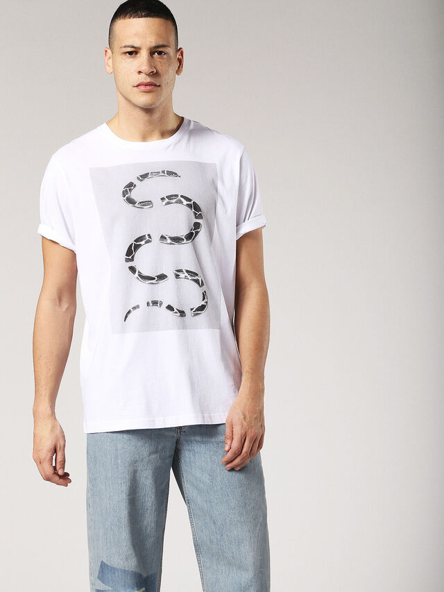 T-JUST-SP, White/Grey