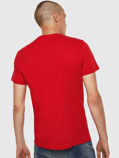 Diesel - T-DIEGO-B6, Fire Red - T-Shirts - Image 2
