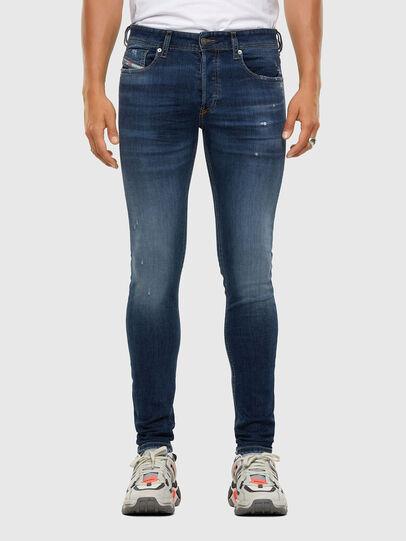 Diesel - Sleenker 009DK, Dark Blue - Jeans - Image 1