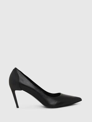 D-SLANTY MH, Black - Heels