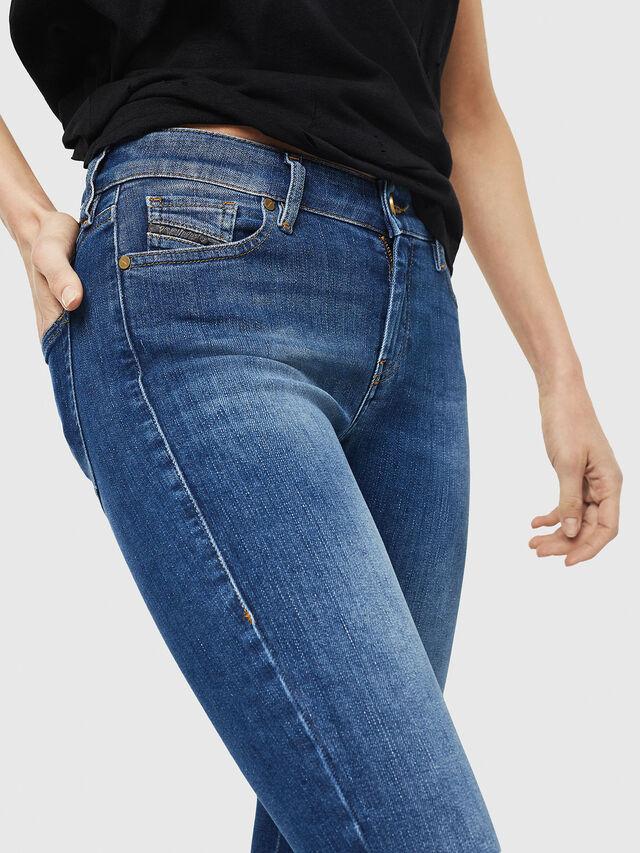 Diesel - Slandy Zip 088AU, Medium blue - Jeans - Image 4