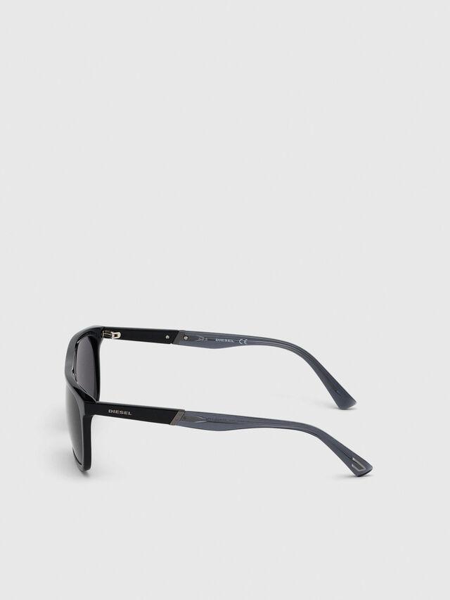 Diesel - DL0299, Black/Grey - Sunglasses - Image 3