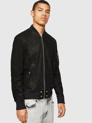 L-NIKOLAI, Black - Leather jackets