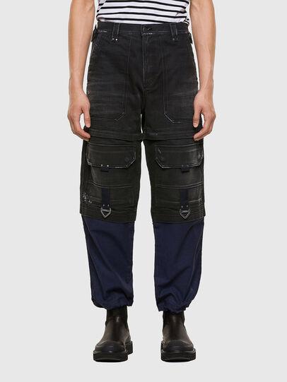 Diesel - D-Multy 009KX, Black/Blue - Jeans - Image 1