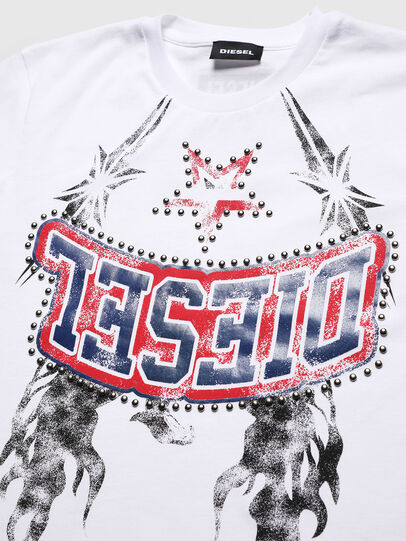 Diesel - TNICOLE, White - T-shirts and Tops - Image 3