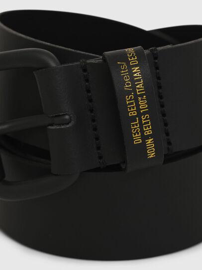 Diesel - B-NOVO, Black - Belts - Image 2