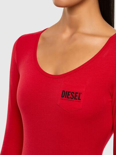 Diesel - UFBY-BODYPOK-LS, Red - Bodysuits - Image 3