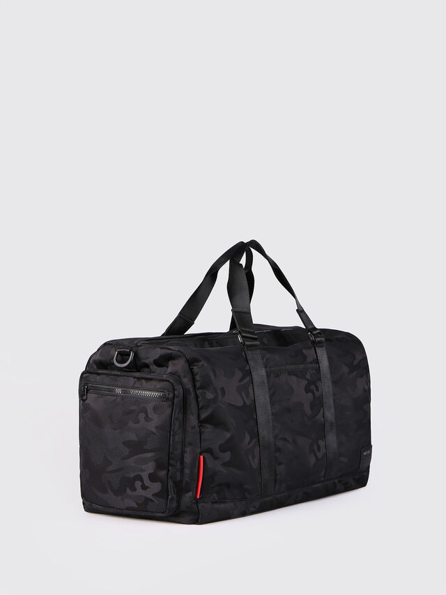 Diesel F-DISCOVER DUFFLE, Black - Travel Bags - Image 3