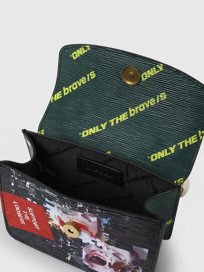 Diesel - ORMELLE MC, Black/Green - Crossbody Bags - Image 4
