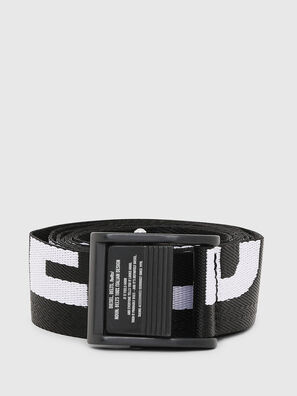 B-MASER, Black/White - Belts