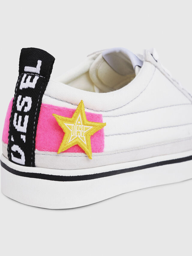 Diesel - D-VELOWS LOW PATCH W, White - Sneakers - Image 4