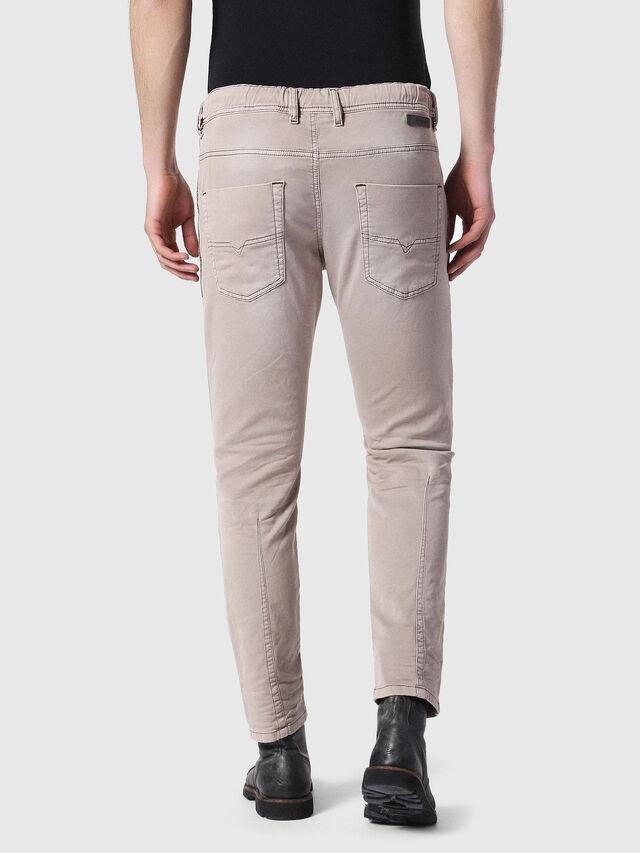 Diesel - Krooley JoggJeans 0670M, Light Brown - Jeans - Image 2