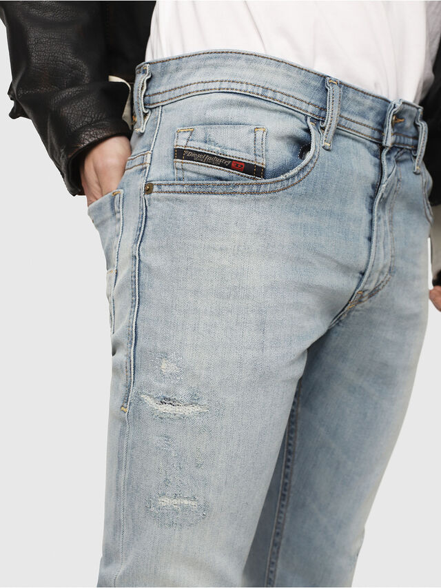 Diesel - Thommer 087AX, Light Blue - Jeans - Image 3
