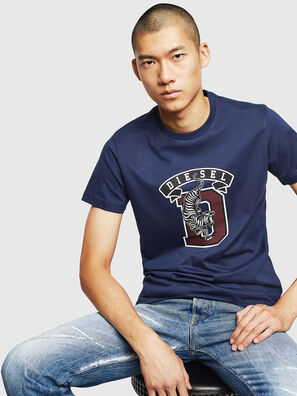 T-DIEGO-B4, Blue - T-Shirts