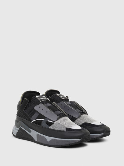 Diesel - S-BRENTHA DEC, Black/Grey - Sneakers - Image 2