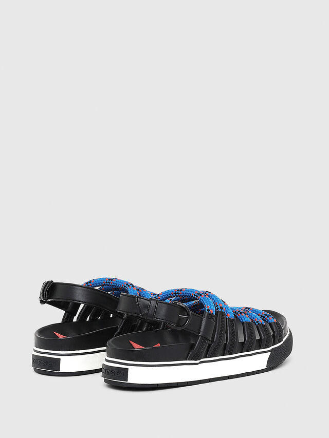 Diesel - SA-GRAND LC W, Black/Blue - Sandals - Image 3
