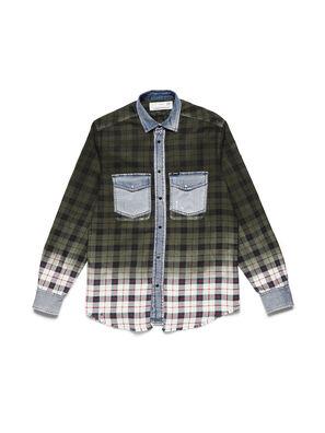 D-DEEPCHECK-B,  - Denim Shirts