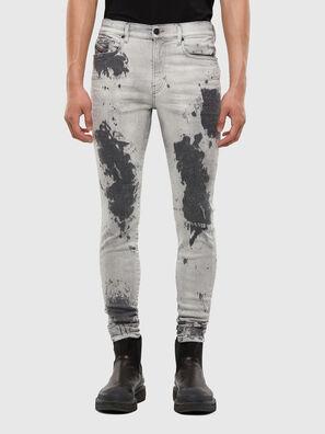 D-Amny 009GM, Light Grey - Jeans