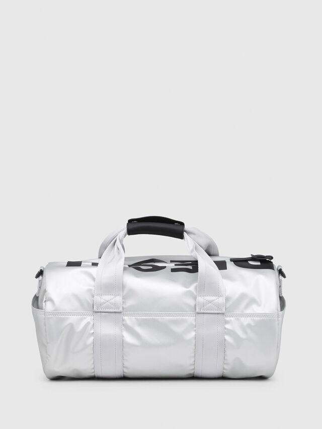 Diesel - F-BOLD DUFFLE FL, Silver - Travel Bags - Image 2